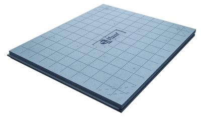 Solissimo® Chauffant 31 | Panneaux rainurés bouvetés 4 côtés et quadrillés au pas de 10 cm.