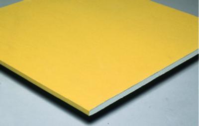 Placoplatre® BA18S Premium   Plaque de plâtre de type mono-parement de largeur 900 mm, haute dureté et pré-imprimée de couleur blanche.