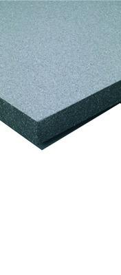 Maxissimo®   Panneau en PSE gris de forte densité à bords droits.