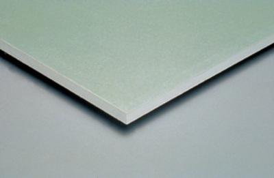 Placomarine® BA 18 | Plaque de plâtre hydrofugée à 2 bords amincis. Permet de réaliser tous types d'ouvrages nécessitant une haute résistance à l'humidité.