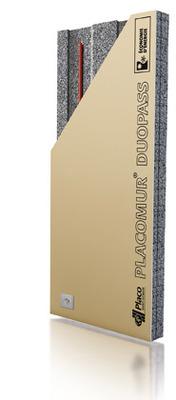 Placomur® DuoPass 2.75 - 110 | Nouveau système de doublage collé, composé de deux éléments : - une