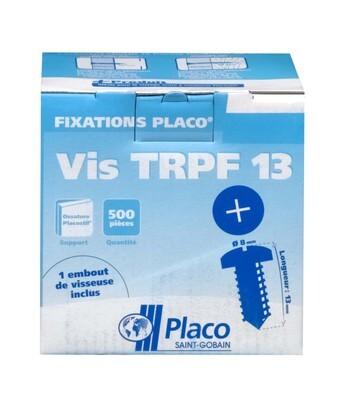 Vis TRPF 13 | Vis autoperceuse tête ronde et pointe foret pour assemblage de 2 accessoires métalliques d'épaisseur 2mm maximum