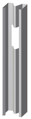 Montant Hydrostil®+ MSP 62-50 500h | Montant stil MSP 48-50 accessoire pour cloisons à haute performance acoustique
