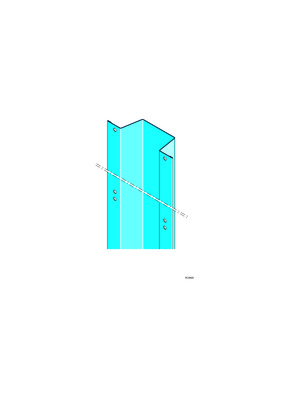 Lisse Megastil® 50/30 | Lisse megastil accessoire pour système de très grande hauteur megastil