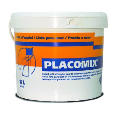 Placomix® 25kg | Placomix enduit prêt à l'emploi pour le traitement des joints entre plaques de plâtre
