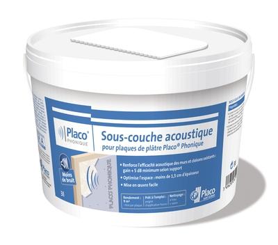 Sous-couche acoustique Placo® Phonique