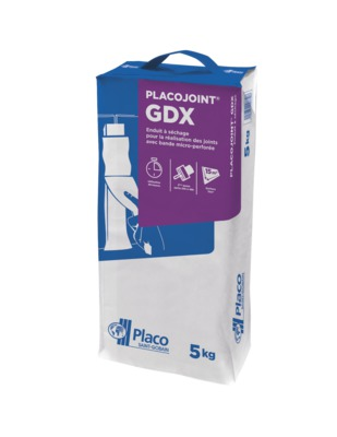 Placojoint® GDX 5kg | Sac d'enduit à séchage Placojoint GDX de 5kg