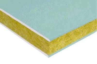 Gaineo® Marine 70/50 | Sandwich_GAINEO ;Gaineo® est un panneau plaque-laine-plaque composé de plaques de plâtre Placomarine® BA 10 hydrofugées H1 et de laine de roche haute densité Isover.